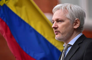 File photo dated 05/02/16 of WikiLeaks founder Julian Assange speaking from the balcony of the Ecuadorian Embassy in London.