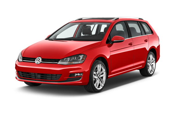 Slide 1 of 24: 2015 Volkswagen Golf SportWagen