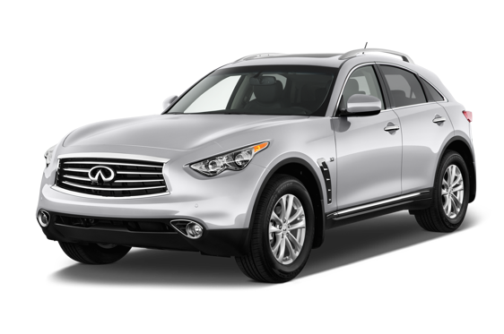 Slide 1 of 14: 2015 Infiniti QX70