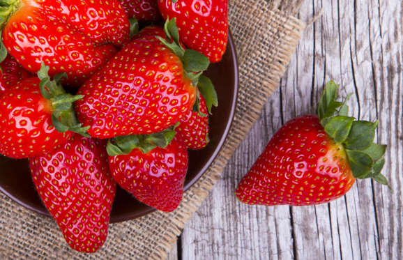 Not to be outdone in the berry department, strawberries are also excellent for the brain. A 2012 Harvard study found that women who ate at least one cup of strawberries and blueberries per week experienced a two and half year delay in mental decline compared to women who rarely consumed them.