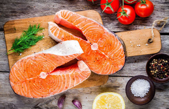 Essential fatty acids (EFA) can't be produced by the body, so we need to include EFA foods in our diet to get our hit, and a great source comes from oily fish like salmon, trout, mackerel and sardines. In fact, studies confirm that frequent fish eaters experience slower rates of cognitive decline as they age. These guys are also packed with EPA and DHA. Low DHA levels have been linked to an increased risk of Alzheimer's disease and memory loss, so pop some oily fish in your shopping basket.