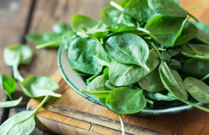 This leafy green is good for you in more ways than one, studies have shown it can prevent or delay dementia by slowing the effects of aging on the brain thanks to its high level of vitamin E. For example, one cup of raw spinach has 15% of your daily intake of vitamin E, and 1/2 a cup of cooked spinach has 25% of your daily intake.