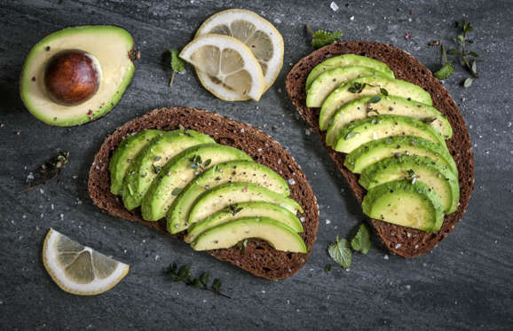 Excellent in salads or on toast, avocados are also a great source of monounsaturated fats, omega 3, and omega 6 fatty acids which increase blood flow to the brain and aid in the absorption of antioxidants. They're also full of vitamin E, which protects the brain from free radical damage and vitamin K, which protects the brain from the risk of stroke.