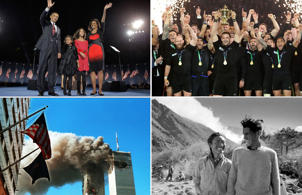 Moments that shaped NZ and the world