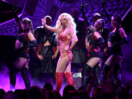 In a Sunday, May 22, 2016 file photo, Britney Spears performs at the Billboard Music Awards at the T-Mobile Arena, in Las Vegas.