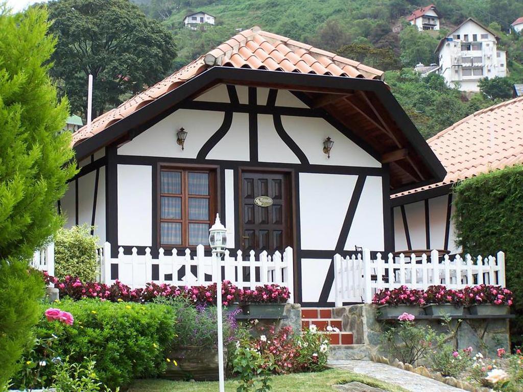 Construcciones típicas en la Colonia Tovar