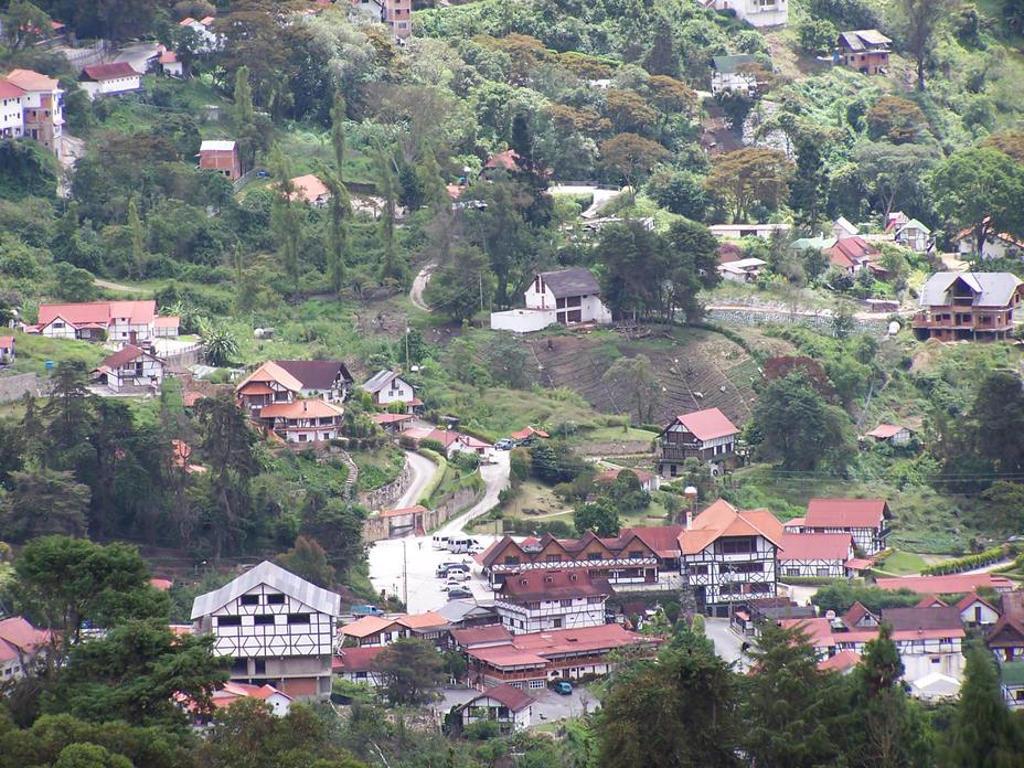 Una vista del paisaje en la Colonia Tovar