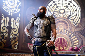 The makers of Tamil film 'Kashmora' released the first look of the Karthi starrer.