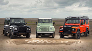 Land Rover Defender: After 68 years in production, we saw the final Land Rover Defender leave the Solihull production line earlier in 2016.