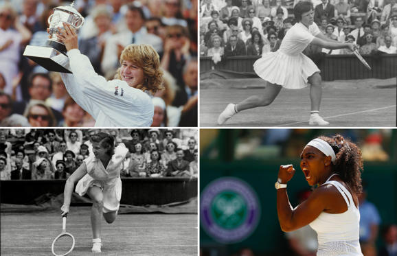 Diapositive 1 sur 31: The best women tennis players in history