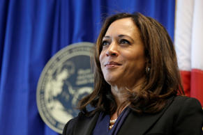 In this photo taken June 28, 2016, California Attorney General Kamala Harris listens to questions during a news conference in San Francisco.