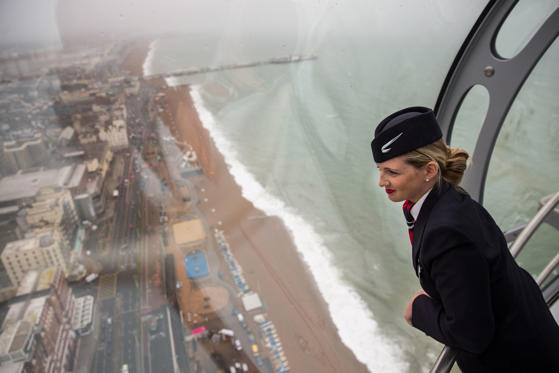 Lysbilde 1 av 25: British Airways i360