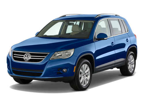 Slide 1 of 14: 2009 Volkswagen Tiguan