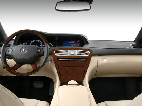 Slide 1 of 11: 2009 Mercedes-Benz CL-class