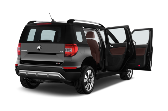 Slide 1 of 25: 2014 Skoda Yeti Outdoor