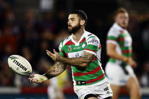 Adam Reynolds of the Rabbitohs in action during the round 23 NRL match between the New Zealand Warriors and the South Sydney Rabbitohs at Mount Smart Stadium on August 13, 2016 in Auckland, New Zealand.