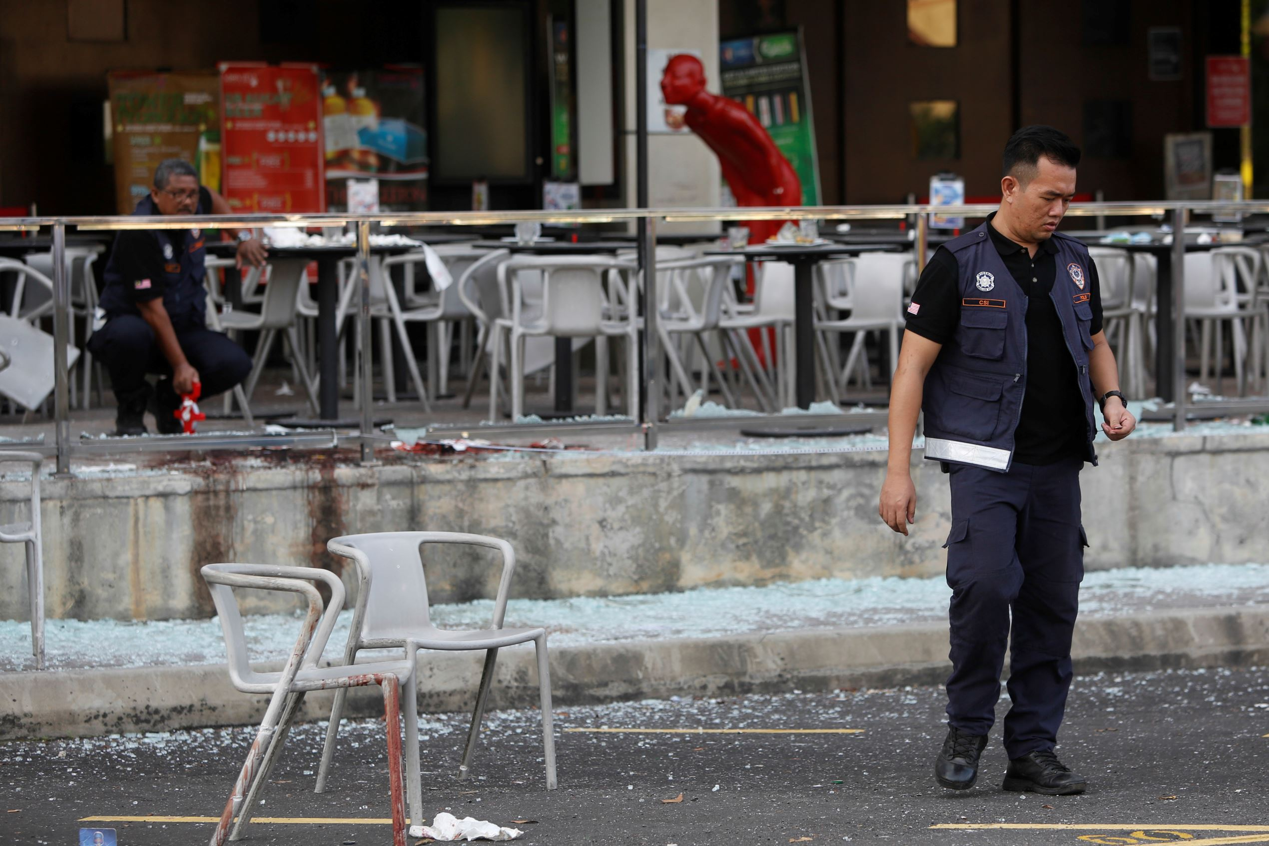 Malaysia arrests Islamic State suspects for grenade attack on bar in June