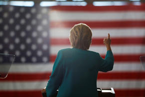 Democratic presidential candidate Hillary Clinton speaks at a campaign event at Truckee Meadows Community College, in Reno, Nev., Thursday, Aug. 25, 2016.