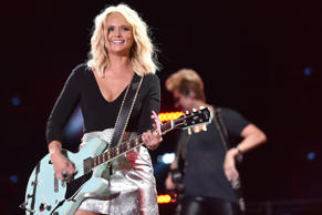 Miranda Lambert performs onstage during 2016 CMA Festival - Day 1 at Nissan Stadium on June 9, 2016 in Nashville, Tennessee.