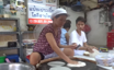 Street vendor wows tourists