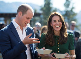 The Duke and Duchess of Cambridge take part in the taste of British Columbia at Mission Hill Winery in Kelowna, B.C., Tuesday, Sept 27, 2016.