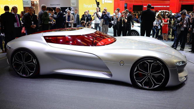 Slide 1 of 34: In case you hadn't noticed, the 2016 Paris Motor Show is underway. We're reporting live from the show, which means we can show you all the cars in one rolling mega-gallery. We do the walking, so you don't have to.