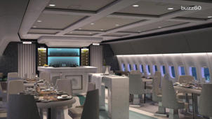 A Sneak Peak at a New 5 Star Luxury Commercial Jet