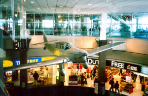 A file image of the Auckland International Airport.