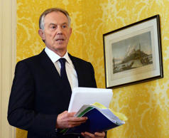 Tony Blair 'considered quitting as Prime Minister to join the European Union'