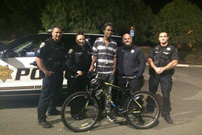 Benicia Police officers had a surprise for Jourdan Duncan after finding out that...