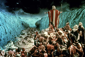 THE TEN COMMANDMENTS, Charlton Heston, 1956 THE TEN COMMANDMENTS, Charlton Heston, 1956