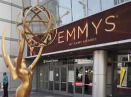 THE 68TH EMMY(r) AWARDS - The 68th Emmy Awards broadcasts live from The Microsoft Theater in Los Angeles, Sunday, September 18 (7:00-11:00 p.m. EDT/4:00-8:00 p.m. PDT), on ABC and is hosted by Jimmy Kimmel. (Image Group LA/ABC via Getty Images)