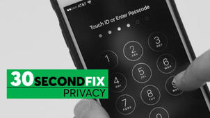 30-Second Privacy Fix: Use a 6-Digit PIN