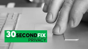 30-Second Privacy Fix: Turn on Your Firewall