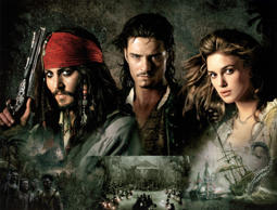 'Pirates of the Caribbean: Dead Man's Chest' Film - 2006 PIRATES OF THE CARIBBEAN: DEAD MAN'S CHEST, Johnny Depp, Orlando Bloom, Keira Knightley, 2006