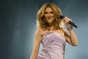 INDIANAPOLIS - DECEMBER 21: Singer Celine Dion performs during the 'Taking Chances' tour at the Conseco Fieldhouse on December 21, 2008 in Indianapolis, Indiana. (Photo by Joey Foley/FilmMagic)