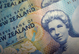 NZ dollar down on US rate hike hope
