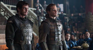 """The Great Wall"": Exklusiver Ausschnitt mit Matt Damon"