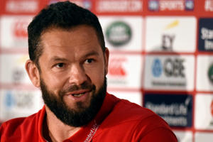 Defence coach Andy Farrell.