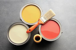 Oil-based paint fumes are really bad, but latex paint can be plenty smelly, too. To neutralize the odor, try adding a tablespoon of vanilla extract to a gallon of paint. It's a natural deodorizer and won't affect the paint color.