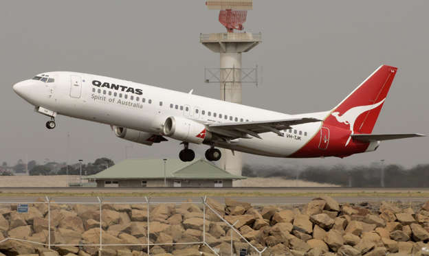 qantas report