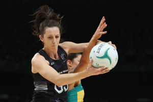 Bailey Mes of the Silver Ferns.