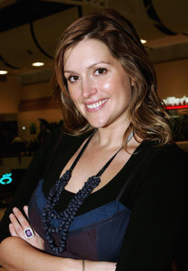 Model and TV and media personality Kate Fischer