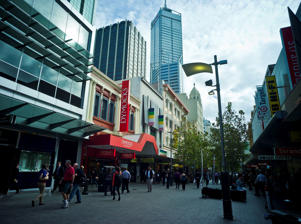 Hay Street Shopping Mall, Perth Western Australia