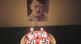 Veronica Bouchard celebrates Adolf Hitler's birthday.