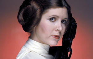 Carrie Fisher in 'Star Wars'