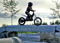 3-year-old can ride a dirtbike