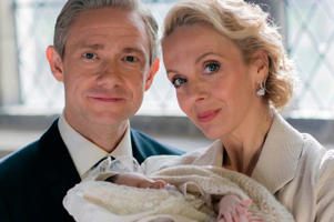 Martin and Amanda in Sherlock (Photo: BBC)