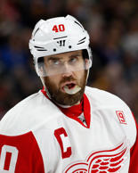 Detroit Red Wings left wing Henrik Zetterberg