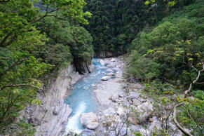 Taroko national park in Taiwan